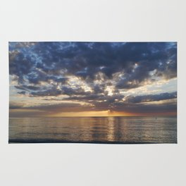 Gulf Coast November Sunset Rug