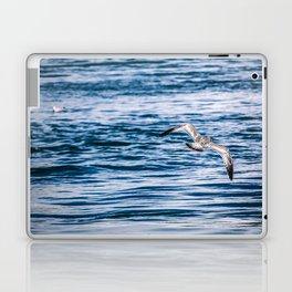 Bird flying across the Niagara river Laptop & iPad Skin