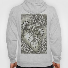 The Anatomical Heart- Organs and Herbs series Hoody