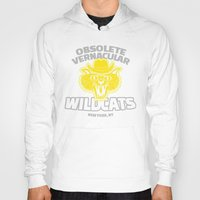 royal tenenbaums Hoodies featuring Obsolete Vernacular Wildcats (Royal Tenenbaums) by Tabner's