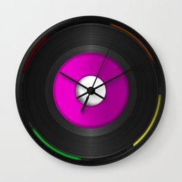 45 RPM Records Wall Clock
