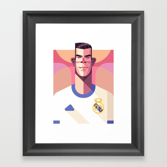 GB11 | Los Merengues Framed Art Print