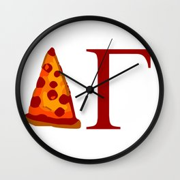 DG Pizza Wall Clock