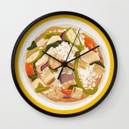 Sinigang Wall Clock