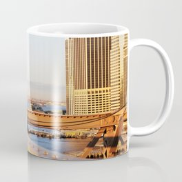 The Statue of Liberty as Seen from the Brooklyn Bridge Coffee Mug