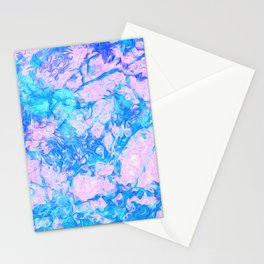Pastel paints Stationery Cards