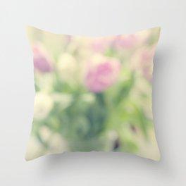 Tulips 5 Throw Pillow