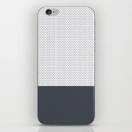 Grey Polka iPhone Skin