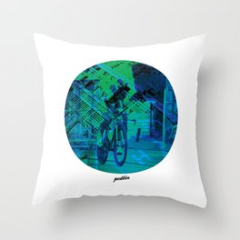 Greenedge Colours Throw Pillow