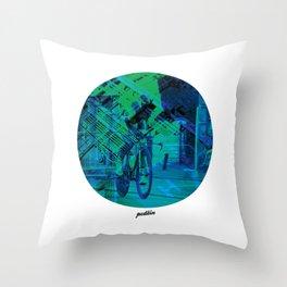 Greenedge Colours Throw Pillow