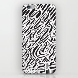 SQUIGGLY WIGGLY iPhone Skin