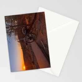 Gettysburg Sunset Cannon Stationery Cards