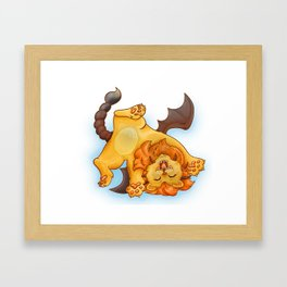 Baby Manticore Framed Art Print