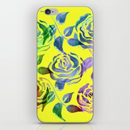 Roses Pattern ZZZ iPhone Skin