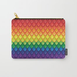 Rainbow Dragon Scales Carry-All Pouch