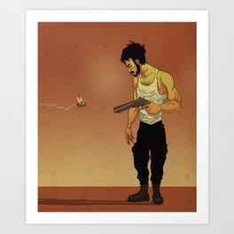 Bum Fly Art Print
