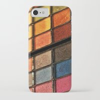 make up iPhone & iPod Cases featuring Make up by lescapricesdefilles
