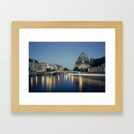 Berliner Dom 2. Framed Art Print