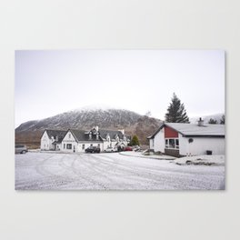 Snowy Highlands Canvas Print