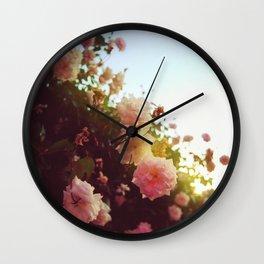 Benicia Rose Wall Clock