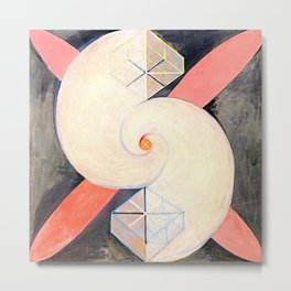 "Hilma af Klint ""The Swan, No. 21, Group IX-SUW"" Metal Print"