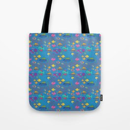 School's Out Fish in the Sea Tote Bag