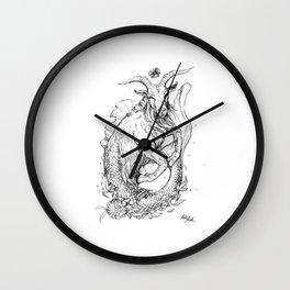 Zodiac: Capricorn Wall Clock