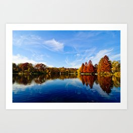 Autumn in NYC Art Print