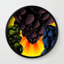 Comic Explosion Wall Clock