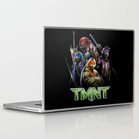 ninja turtle Laptop & iPad Skins featuring Ninja Turtle best for birthday and Christmas gift by customgift