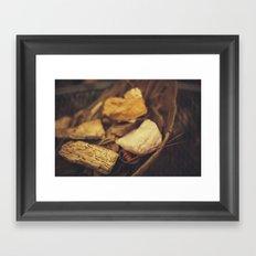 Minerals Framed Art Print