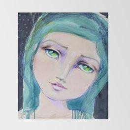 Dreamer by Jane Davenport Throw Blanket