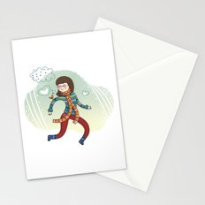 MY LITTLE FRIEND Stationery Cards