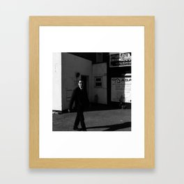Clapham Portrait Framed Art Print