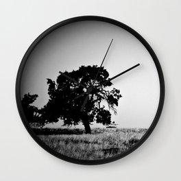 Field Of Empty Dreams Wall Clock