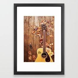 Guitar Framed Art Print