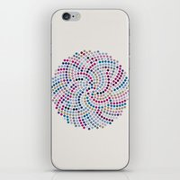 aelwen iPhone & iPod Skins featuring High Life (III) by Angelo Cerantola