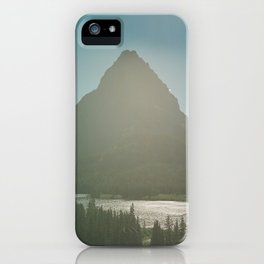 Mt. Grinnell iPhone Case