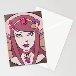 Fairy loves candy 2 Stationery Cards