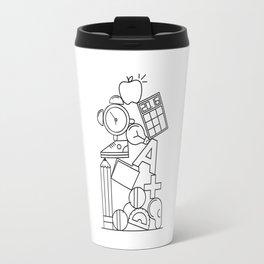 Pile Two (Back to School!) Travel Mug