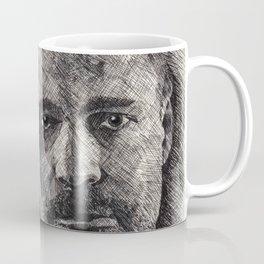 Gord Downie  Tribute Pen & Ink Drawing Coffee Mug