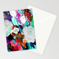 forest flowers 3 Stationery Cards