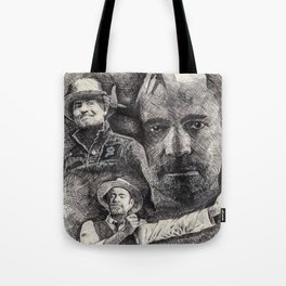 Gord Downie  Tribute Pen & Ink Drawing Tote Bag