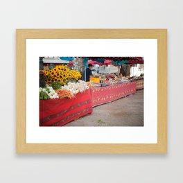 Market 1 Framed Art Print