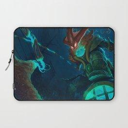 Deep Terror Thresh League Of Legends Laptop Sleeve