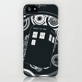 Negative Time and Space - Doctor Who inspired iPhone Case