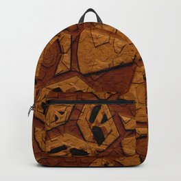 Ancient Stone Carvings Backpack