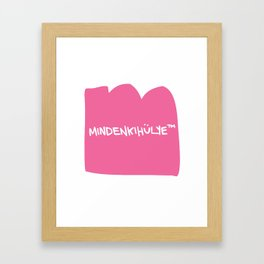 mindenkihülye™ pink Framed Art Print