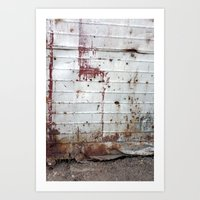 Rust and Red Art Print