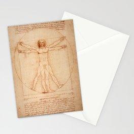 Vitruvian Man (c. 1490) Stationery Cards